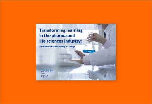 Transforming learning in the pharma and life sciences industry