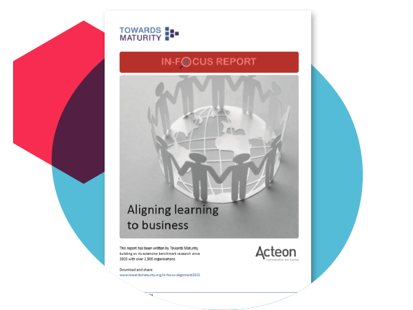 Aligning learning to business (2015)