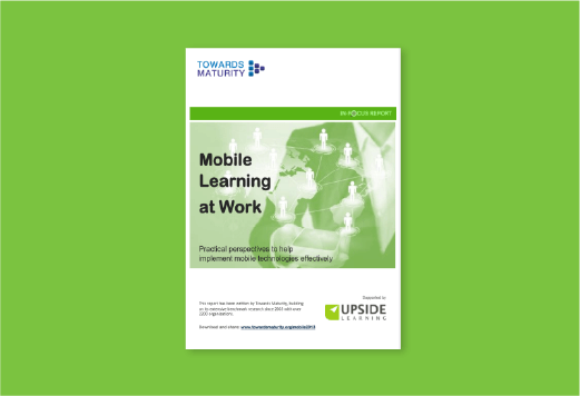 Mobile learning at work (2013)