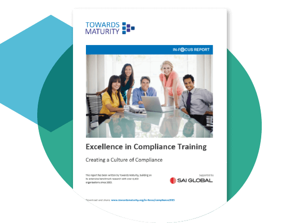 Excellence in compliance training