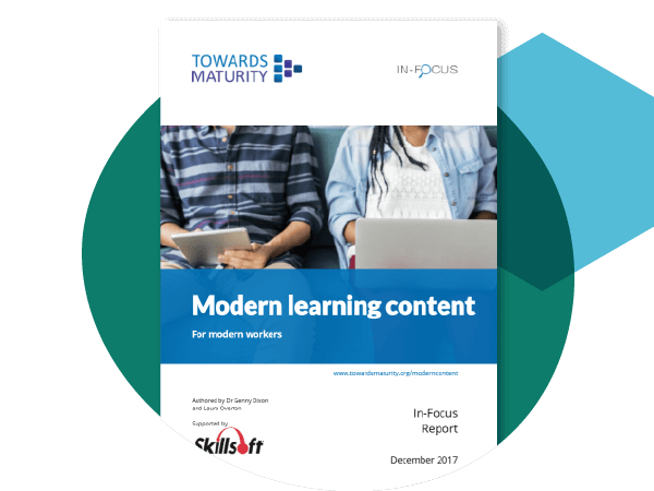 Modern learning content for modern workers
