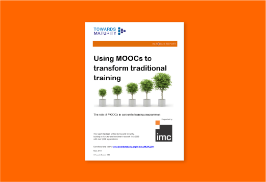 Lessons from MOOCs for corporate learning