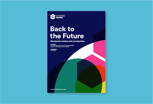 Back to the Future: Why tomorrow's workforce needs a learning culture